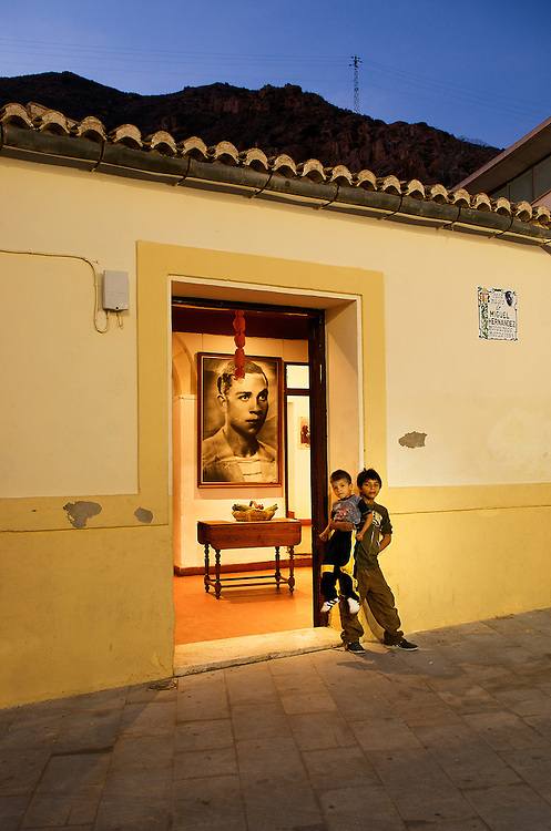 Miguel Hern&aacute;ndez House-Museum.<br /> Orihuela, Spain.