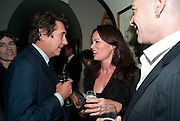 BRYAN FERRY; TRISHA SIMONON, BRIONI FRAGRANCE LAUNCH. Annabels. Berkeley Sq. London. 14 October 2009.