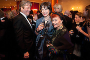 Roger Allam; Thelma Holt <br />  56th London Evening Standard Theatre Awards. Savoy Hotel. London. 28 November 2010.  -DO NOT ARCHIVE-© Copyright Photograph by Dafydd Jones. 248 Clapham Rd. London SW9 0PZ. Tel 0207 820 0771. www.dafjones.com.