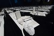 Venice, Italy. 14th Architecture Biennale 2014, &quot;fundamentals&quot;.<br /> Arsenale. &quot;monditalia, a scan&quot;<br /> giacomo cantoni, pietro pagliaro, &quot;post-frontier mediterraneo&quot;