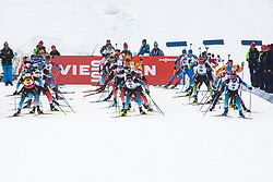 Mass Start Men 15 km at day 4 of IBU Biathlon World Cup 2019/20 Pokljuka, on January 23, 2020 in Rudno polje, Pokljuka, Pokljuka, Slovenia. Photo by Peter Podobnik / Sportida