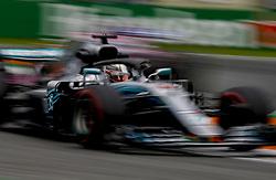 August 31, 2018 - Monza, Italy - Motorsports: FIA Formula One World Championship 2018, Grand Prix of Italy, .#44 Lewis Hamilton (GBR, Mercedes AMG Petronas Motorsport) (Credit Image: © Hoch Zwei via ZUMA Wire)