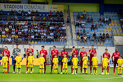 FC Ufa during 2nd Leg football match between NK Domzale and FC Ufa in 2nd Qualifying Round of UEFA Europa League 2018/19, on August 2, 2018 in Sports Park Domzale, Domzale, Slovenia. Photo by Urban Urbanc / Sportida