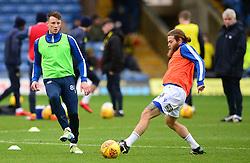 Ollie Clarke of Bristol Rovers Stuart Sinclair of Bristol Rovers - Mandatory by-line: Alex James/JMP - 10/02/2018 - FOOTBALL - Kassam Stadium - Oxford, England - Oxford United v Bristol Rovers - Sky Bet League One