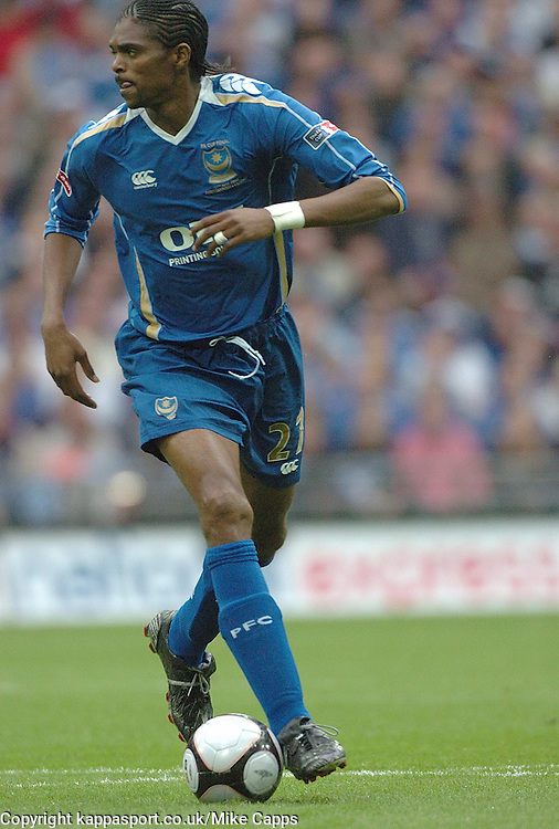 NWANKWO KANU PORTSMOUTH FC,  Cardiff City v Portsmouth, FA Cup Final, Wembley Stadium 17th May 2008