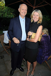 NICK GEORGE and his wife actress MARSHA FITZALAN at a party to celebrate the publication on 'Unsuitable' by Suzy Parsons held at St.Stephen's Club, 34 Queen Anne's Gate, London SW1 on 19th June 2008<br /><br />NON EXCLUSIVE - WORLD RIGHTS