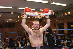 FEATHERWEIGHT CHAMP SCOTT HARRISON WINS AGAINST MULLINGS..©2010 Michael Schofield. All Rights Reserved.