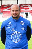 Julien LACHUER - 08.09.2014 - Photo officielle Brest - Ligue 2 2014/2015<br /> Photo : Maxime Kerriou / Icon Sport