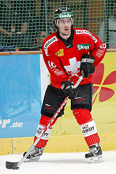 12.11.2010, Olympiahalle, Muenchen, GER, Deutschland Cup , Schweiz vs Slovakei, im Bild  Diaz Raphael (Schweiz #16) , EXPA Pictures © 2010, PhotoCredit: EXPA/ nph/  Straubmeier+++++ ATTENTION - OUT OF GER +++++