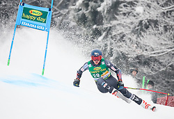 Ryan Cochran-Siegle of USA competes during 1st run of Men's GiantSlalom race of FIS Alpine Ski World Cup 57th Vitranc Cup 2018, on March 3, 2018 in Kranjska Gora, Slovenia. Photo by Ziga Zupan / Sportida