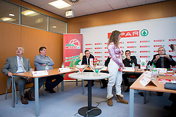 Press conference before Finals of Spar Cup 2018, on January 31, 2018 in Ljubljana, Slovenia. Photo by Urban Urbanc / Sportida