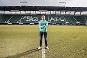 18.02.2014; St.Gallen; Fussball Super League - FC St.Gallen;<br /> Interview und Portrait Mario Mutsch (Andy Mueller/freshfocus)