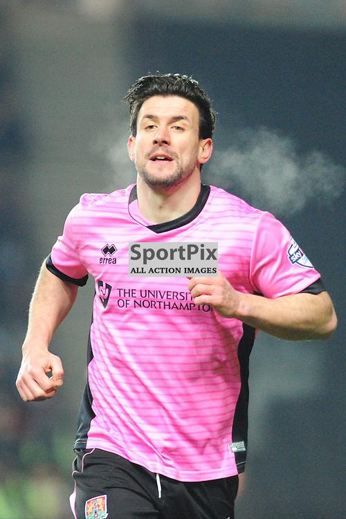 DAVID BUCHANAN  NORTHAMPTON TOWN,  Dons v Northampton Town, FA Cup Emirates FA Cup Third round Repay, Stadium MK, Tuesday 19th January 2016