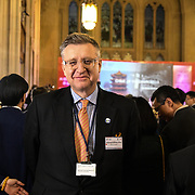 Alastair Naisbitt King is a President of IoD attend China-UK United We Stand together to fights the #Covid19 at Guildhall, on 28th February 2020, London, UK.
