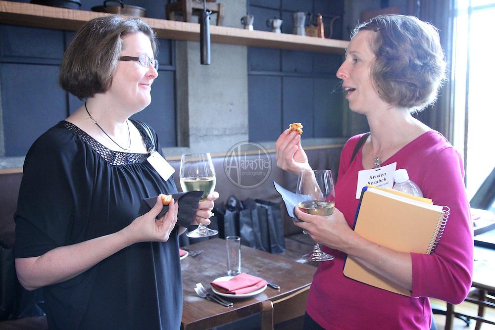 Allegrini Palazzo Della Torre's Cook-Off for a Cause at La Spiga restaurant in Seattle, WA.