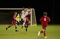 St Paul's School varsity boys soccer.  ©2019 Karen Bobotas Photographer