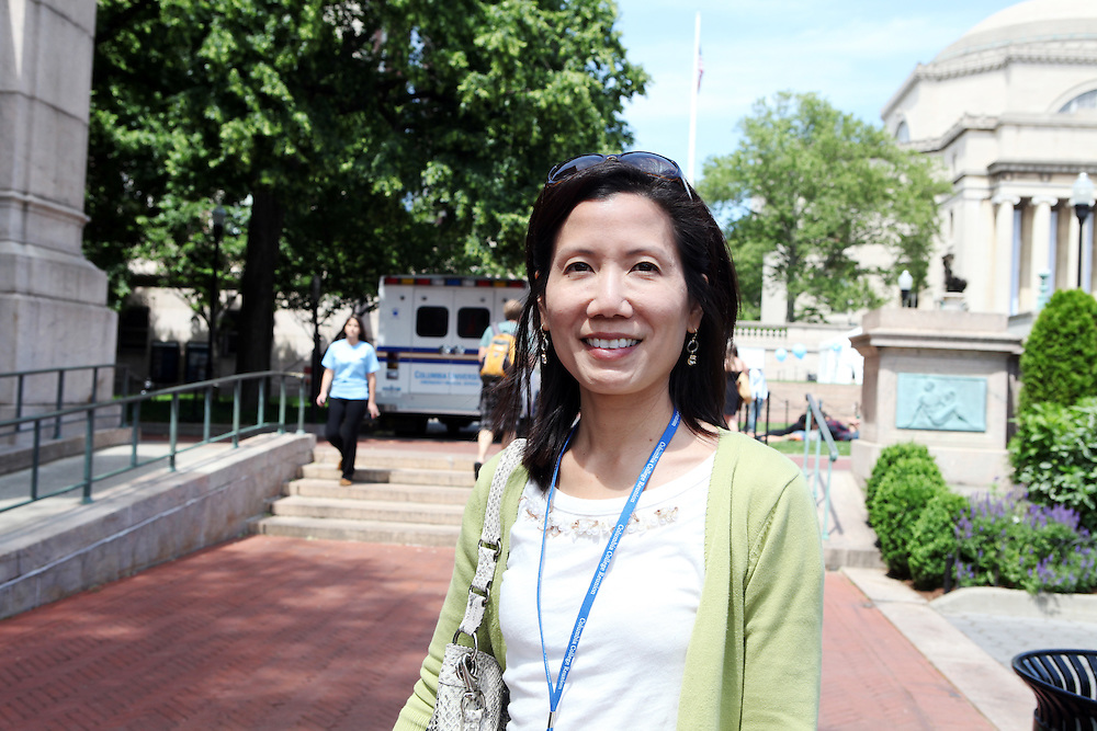 """Jane Chew '91 Physicians & Surgeons '95..""""Don't go to a Chinese restaurant with tablecloths."""""""