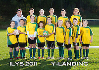 Inter Lakes Youth Soccer League Y-Landing Team October 15, 2011.