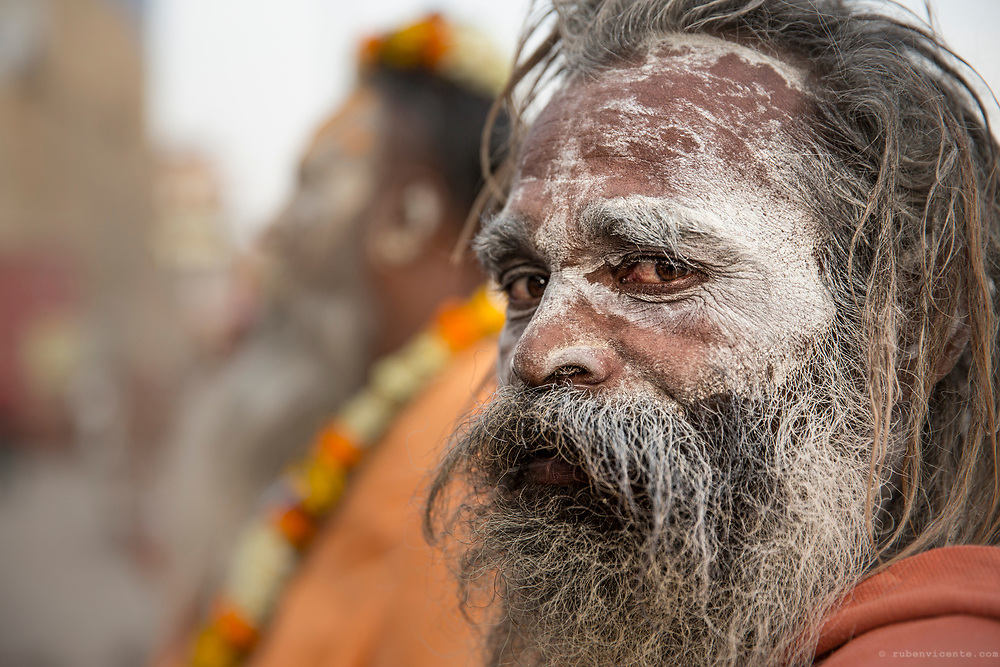 Sadhu portrait. Varanasi, India