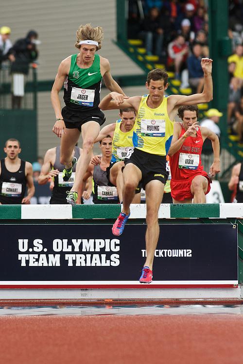 Olympic Trials Eugene 2012: 3000 meter steeplechase, Dan Huling