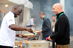 Guests enjoy a BBQ at the RSG Summer party  - Mandatory by-line: Dougie Allward/JMP - 18/05/2017 - RSG Summer Party