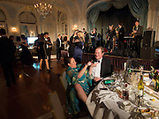 ALICE SIDLEY; RICHARD ROYDEN, Game & Wildlife Conservation Trust's Ball. Savoy Hotel. London. 6 November 2013.