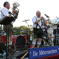 "Libby Ezell | BUY at PHOTOS.DJOURNAL.COM<br /> ""Die Mitternaechters"" were the musical entertainment at Thursday's Octoberfest"