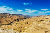 kings way desert road Dead Sea in Jordan