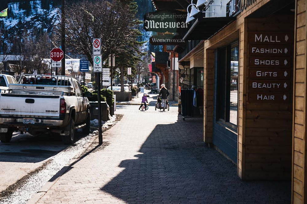 Main Street, Smithers, BC.