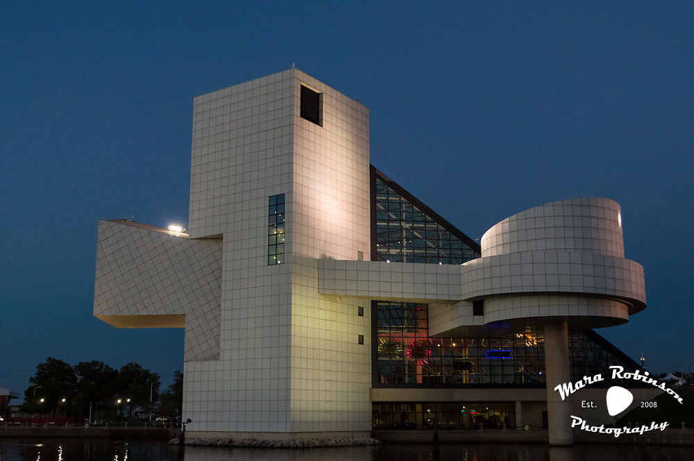 The Rock and Roll Hall of Fame and Museum, 8.18.2010. Photo by Mara Robinson.