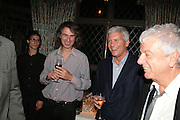 IVOR BRAKA AND LARRY GAGOSIAN, Party for David LaChapelle and Ron Arad given by Ivor Braka. Cadogan sq. London. 10 October 2007. -DO NOT ARCHIVE-© Copyright Photograph by Dafydd Jones. 248 Clapham Rd. London SW9 0PZ. Tel 0207 820 0771. www.dafjones.com.