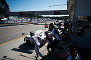 September 29, 2016: IMSA Petit Le Mans, #27 Cedric Sbirrazzuoli, Luca Persiani, Paolo Ruberti, Dream Racing, Lamborghini Huracán GT3