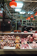 Butcher in Paris, France