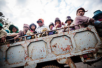 Migrant workers in Cambodia.