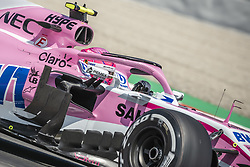May 11, 2018 - Barcelona, Catalonia, Spain - ESTEBAN OCON (FRA) drives during the first practice session of the Spanish GP at Circuit de Catalunya in his Force India VJM11 (Credit Image: © Matthias Oesterle via ZUMA Wire)