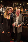 ISABELLA KNOPFLER; MARK KNOPFLER; HUGH HUDSON , Once Gala night raising funds for Oxfam's Mother Appeal. Phoenix Theatre. Charing Cross Rd. . London. 17 March 2014.