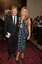 PIERS MORGAN and his wife CELIA WALDEN at the GQ Men Of The Year 2014 Awards in association with Hugo Boss held at The Royal Opera House, London on 2nd September 2014.