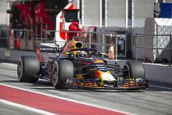 March 9, 2018 - Barcelona, Catalonia, Spain - Red Bull Racing driver Daniel Ricciardo (3) of Australia during the test of F1 celebrated at Circuit of Barcelonacon 9th March 2018 in Barcelona, Spain. (Credit Image: © Joan Valls/NurPhoto via ZUMA Press)