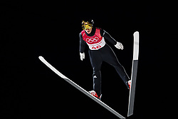 February 17, 2018 - Pyeongchang, SOUTH KOREA - 180217 Johann Andre Forfang of Norway in the men's large hill individual final during day eight of the 2018 Winter Olympics on February 17, 2018 in Pyeongchang..Photo: Carl Sandin / BILDBYRÃ…N / kod CS / 57999_303 (Credit Image: © Carl Sandin/Bildbyran via ZUMA Press)