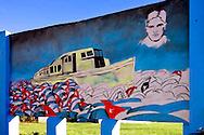 Revolutionary sign in Cardenas, Matanzas, Cuba.
