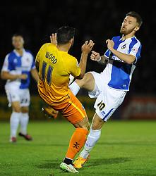 Matty Taylor - Mandatory byline: Neil Brookman/JMP - 07966 386802 - 06/10/2015 - FOOTBALL - Memorial Stadium - Bristol, England - Bristol Rovers v Wycombe Wanderers - JPT Trophy
