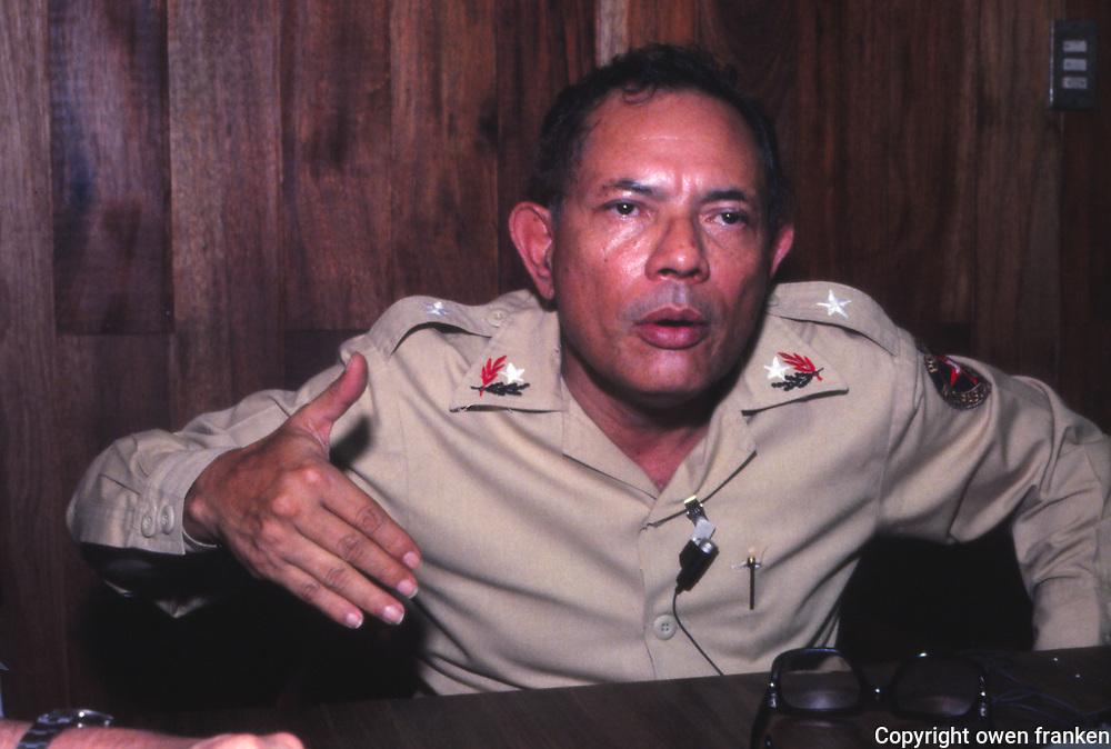 Nicaragua-Tomas Borge-1980