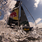 RED BULL SAILING TEAM<br /> (AUT)<br /> The double Olympic gold medal winning Austrian duo Roman Hagara and Hans-Peter Steinacher are back with their crew in 2016. Skipper Roman Hagara is Austria's most successful summer sports star having competed in the Olympics a staggering six times, securing two gold medals for his country in the Tornado class. This will be Red Bull Sailing Team's seventh season on the circuit having first competed back in 2010 Now in its tenth season in 2016, the award-winning and adrenaline-fueled global Series has given the sport of sailing a healthy dusting-off. Bringing the action to the public with Stadium Sailing, putting guests at the heart of the battle and dramatically increasing the pace on the water, the creators of the Extreme Sailing Series™ have set new standards, both in terms of high level competition and sporting entertainment. With a new fleet of hydro-foiling GC32s replacing the Extreme 40 for the 2016 season the Extreme Sailing Series™ looks set to be another fast-paced and thrilling year.