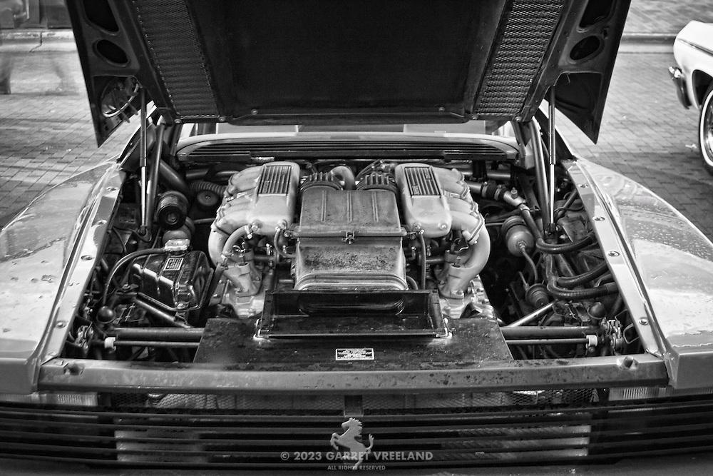 Ferrari Testarossa engine.