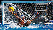 Pierce College beats SMC 1341 in Women's Water Polo on Wednesday, October 16, 2013 at SMC in Santa Monica, Calif.