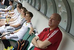 DEN HAAG - Rabobank Hockey World Cup<br /> 29 Germany - Korea<br /> Foto: Markus Weise (right).<br /> COPYRIGHT FRANK UIJLENBROEK FFU PRESS AGENCY