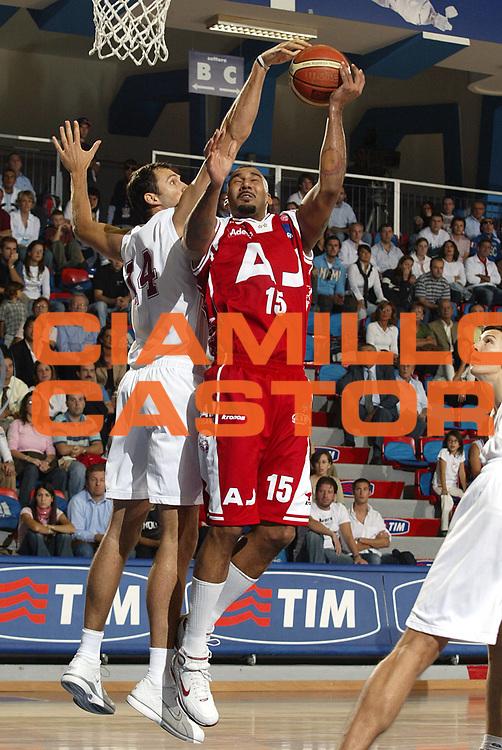 DESCRIZIONE : MILANO TROFEO TIM-TIM CUP<br />GIOCATORE : BLAIR<br />SQUADRA : ARMANI JEANS MILANO<br />EVENTO : TROFEO TIM-TIM CUP<br />GARA : ARMANI JEANS MILANO-LOTTOMATICA VIRTUS ROMA<br />DATA : 01/10/2005<br />CATEGORIA : Rimbalzo<br />SPORT : Pallacanestro<br />AUTORE : AGENZIA CIAMILLO &amp; CASTORIA/Stefano Ceretti
