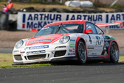 Car 4 - Steve Parish, Porche Carrera Cup..British Touring Car Championship at Knockhill, Sunday 4th September 2011. .© pic Michael Schofield.