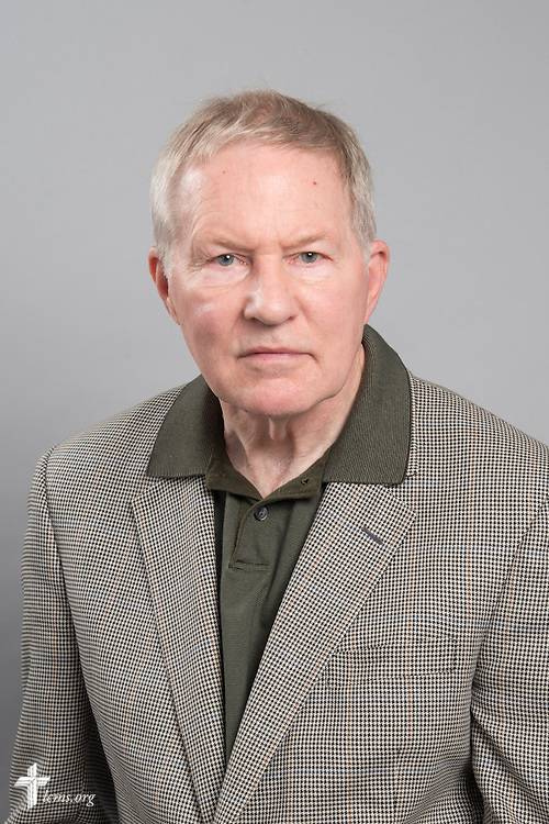 Headshot photograph of Gary Quick on Monday, June 1, 2015, at the International Center of The Lutheran Church–Missouri Synod in Kirkwood, Mo. LCMS Communications/Frank Kohn