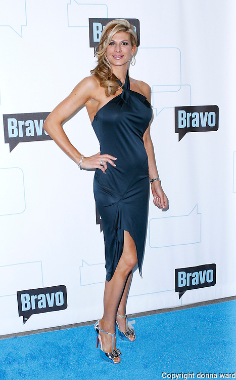 Alexis Bellino attends the 2010 Bravo Media Upfront Party at Skylight Studios in New York City on March 10, 2010.